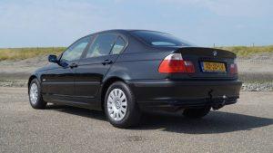 De BMW van de vermiste Gerco